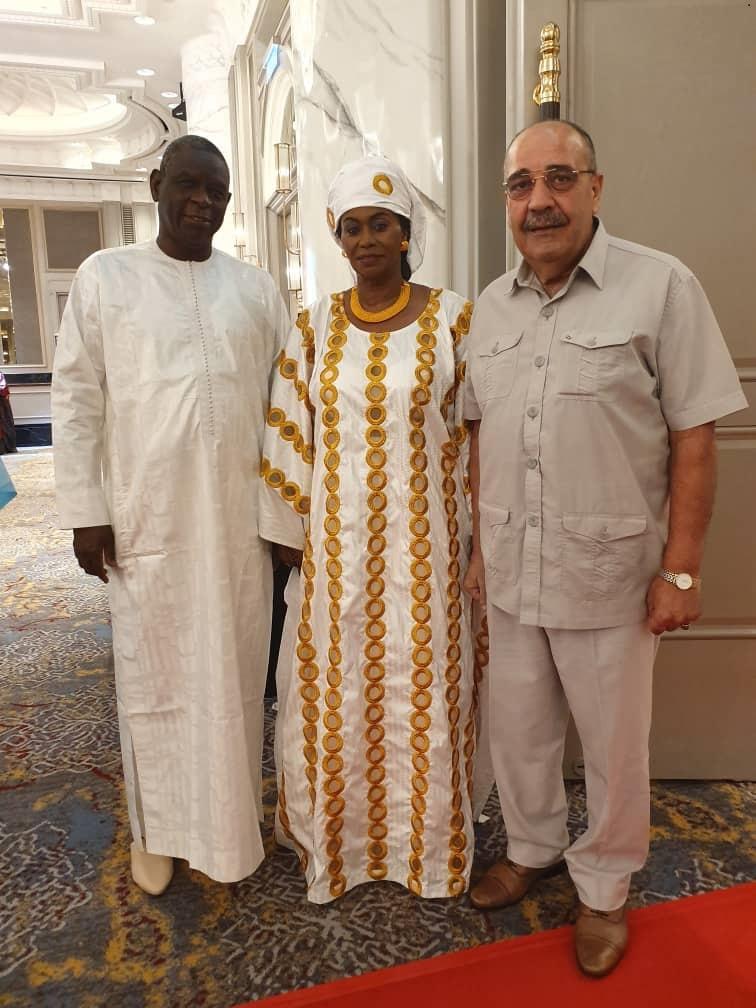 حضور سعادة السفير وليد أبو علي حفل استقبال اليوم الوطني للسنغال